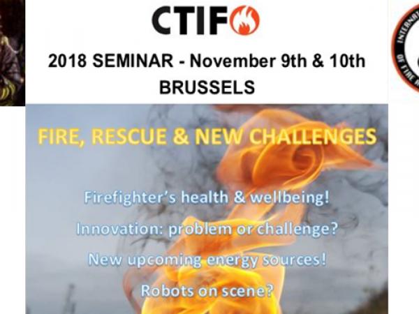 CTIF : Fire, Rescue & New Challenges
