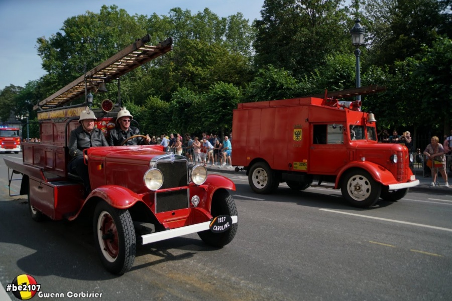 Défilé Pompiers (photo Gwenn Corbisier)