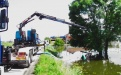 Lutte contre l'inondation : pompage