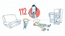 Pour sauver des vies, tape 112