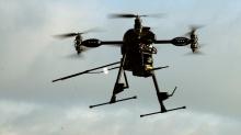 Dronen des Zivilschutzes